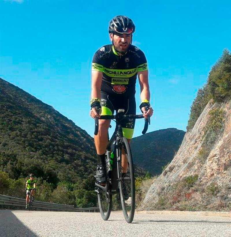 Team Bike Green Group Paolo Ledda Tour