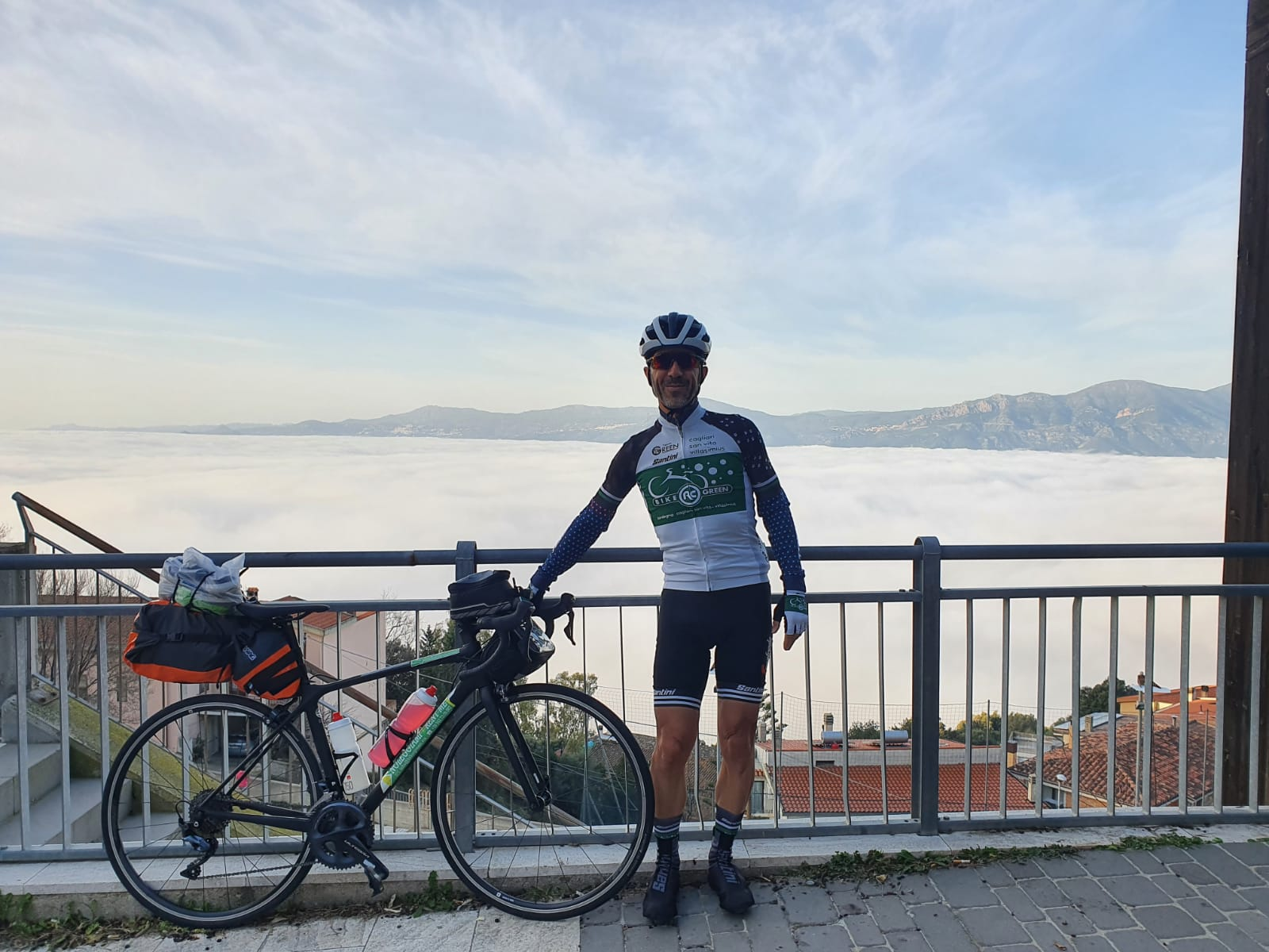 Eine Rückkehr auf Rädern in den Wolken